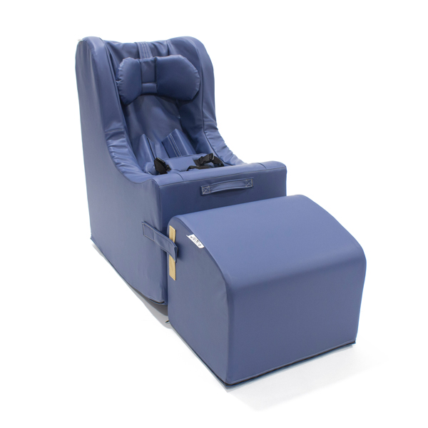 A Pacific Blue Rock'er Chill-Out Chair.