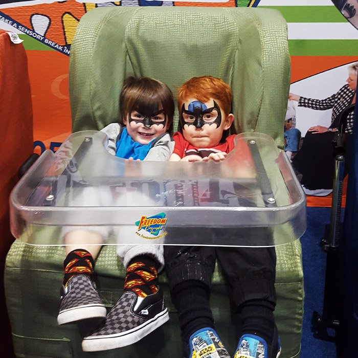 Abilities Expo - Chill-Out Chairs Booth