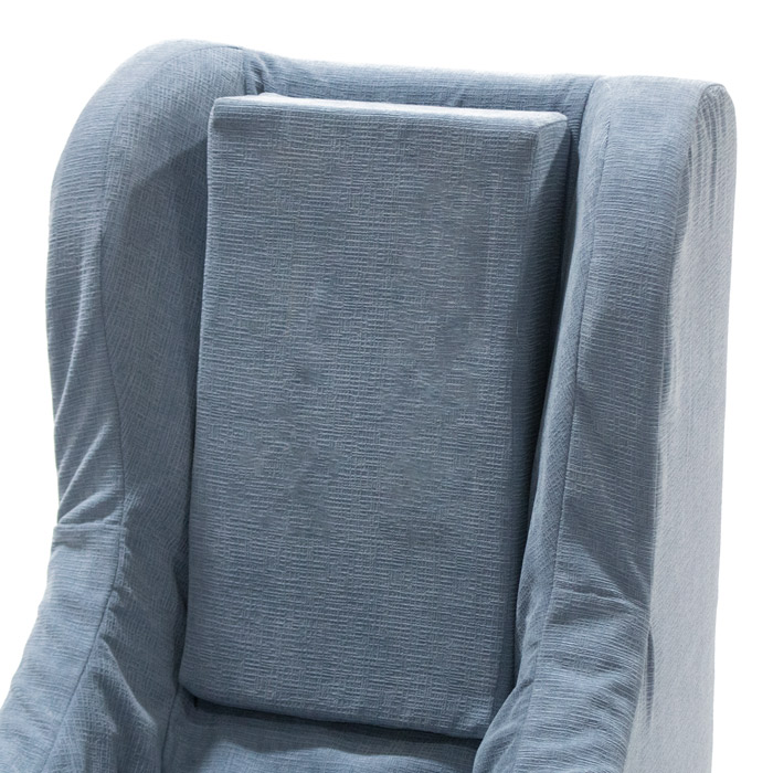 An activity wedge on a Chill-Out Chair