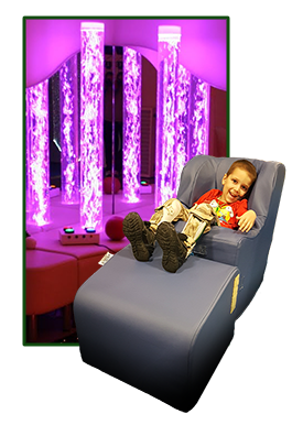 Rock'er Chill-Out Chair in Sensory Room